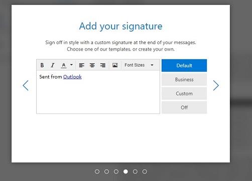 hotmail signature