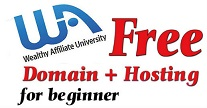 wealthy affiliate free domain