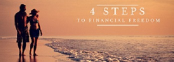 4 steps to financial freedom small