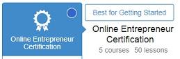 wealthy affiliate entrepreneur certification