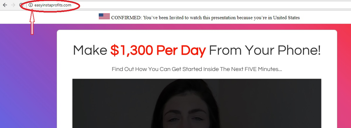 easy insta profits website