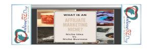affiliate marketing niche