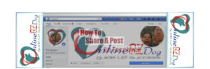 How to share a post on Facebook?
