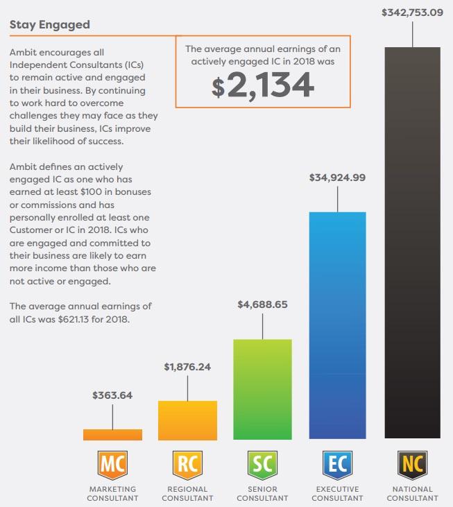 Ambit Energy earnings statement