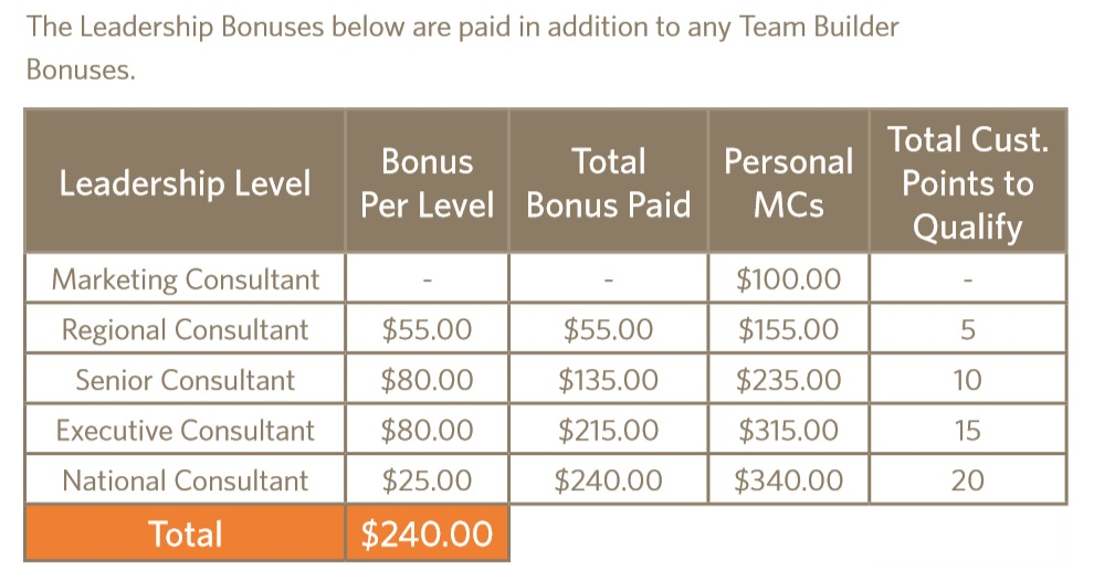 Ambit Energy pyramid scheme leader income