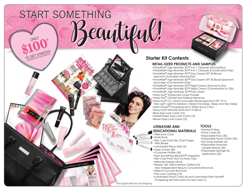 Become a Mary Kay Consultant starter kit