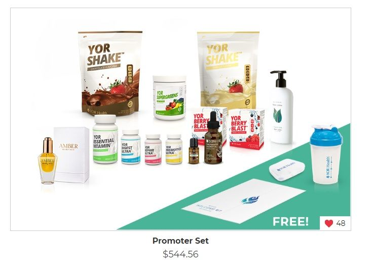 YOR Health review business set