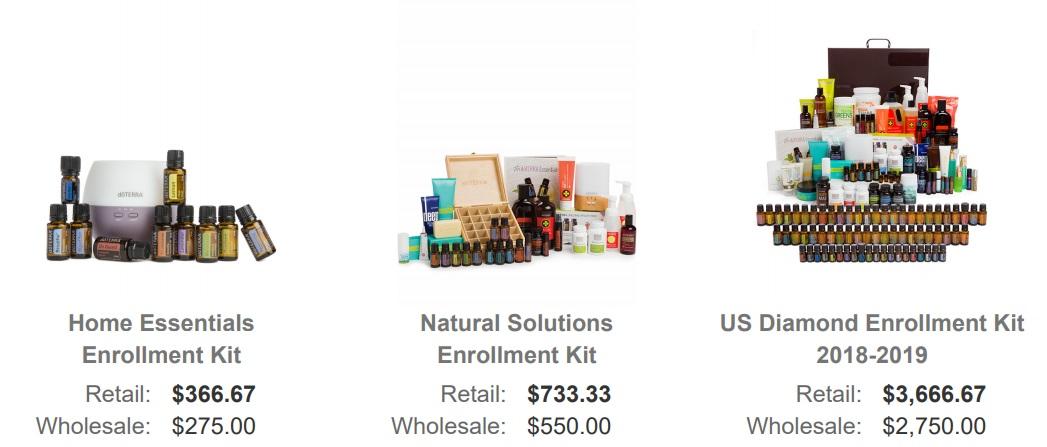 doTERRA enrollment kit