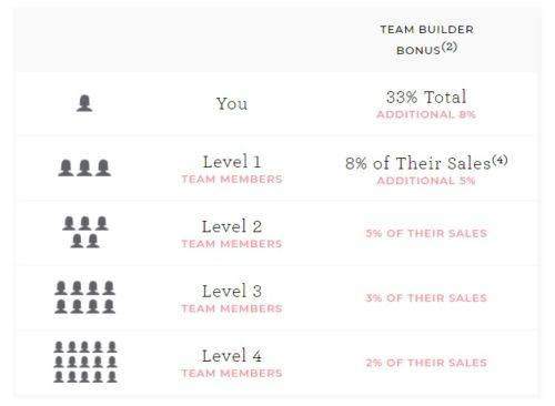 CABI pyramid team commissions