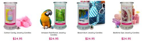 Jewelry Candles scam products
