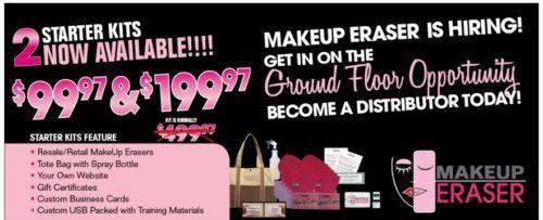 MakeUp Eraser mlm starter kits