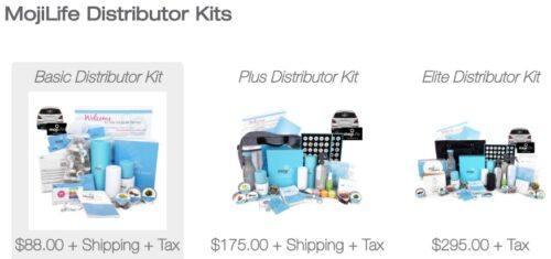 MojiLife review distributor kits