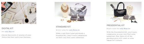Park Lane Jewelry review starter kits