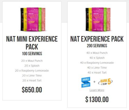 Pruvit promoter packs
