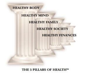 Nikken five pillars of health