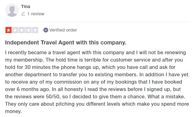 Customer review of Global Travel International