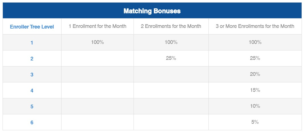 icoinpro matching bonuses