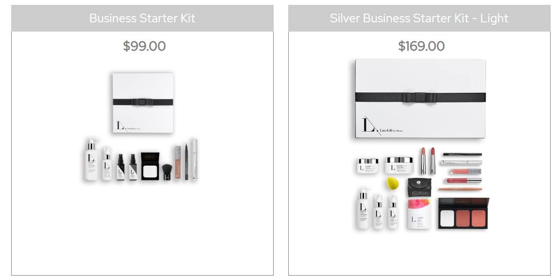 limelife business starter kits
