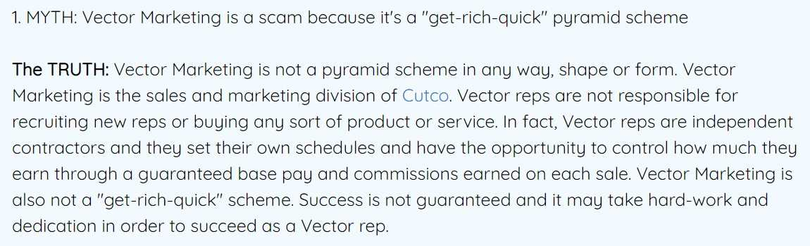 victor marketing pyramid scheme answer