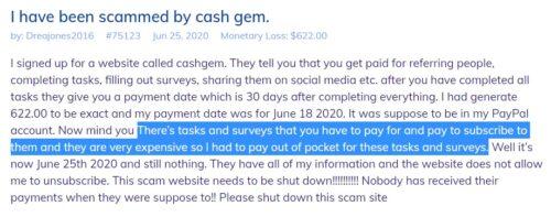 cashgem-scam-report